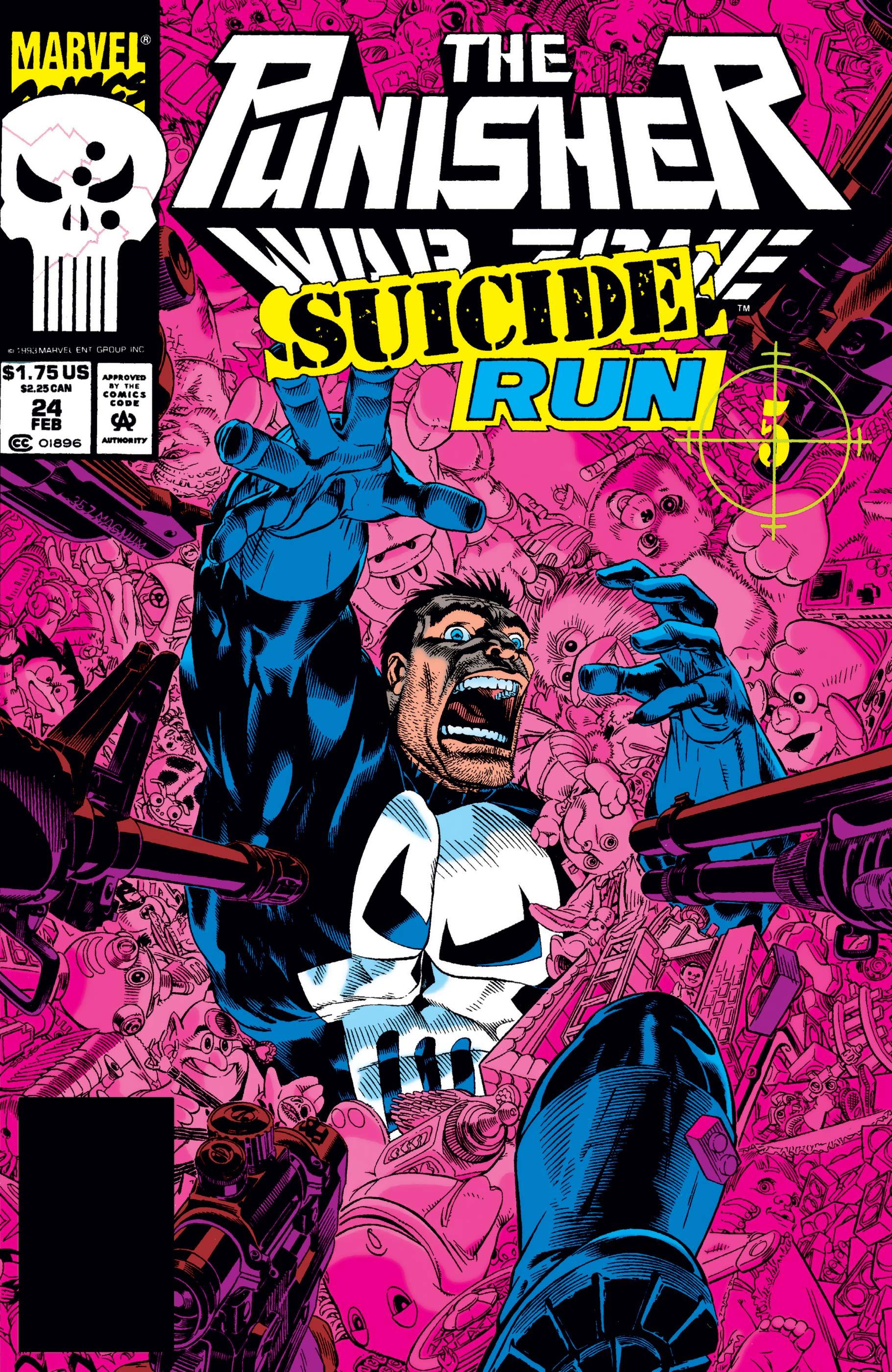 The Punisher War Zone (1992) #24