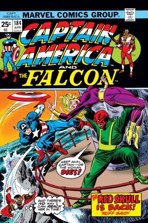 Captain America  #184