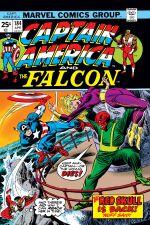 Captain America (1968) #184 cover