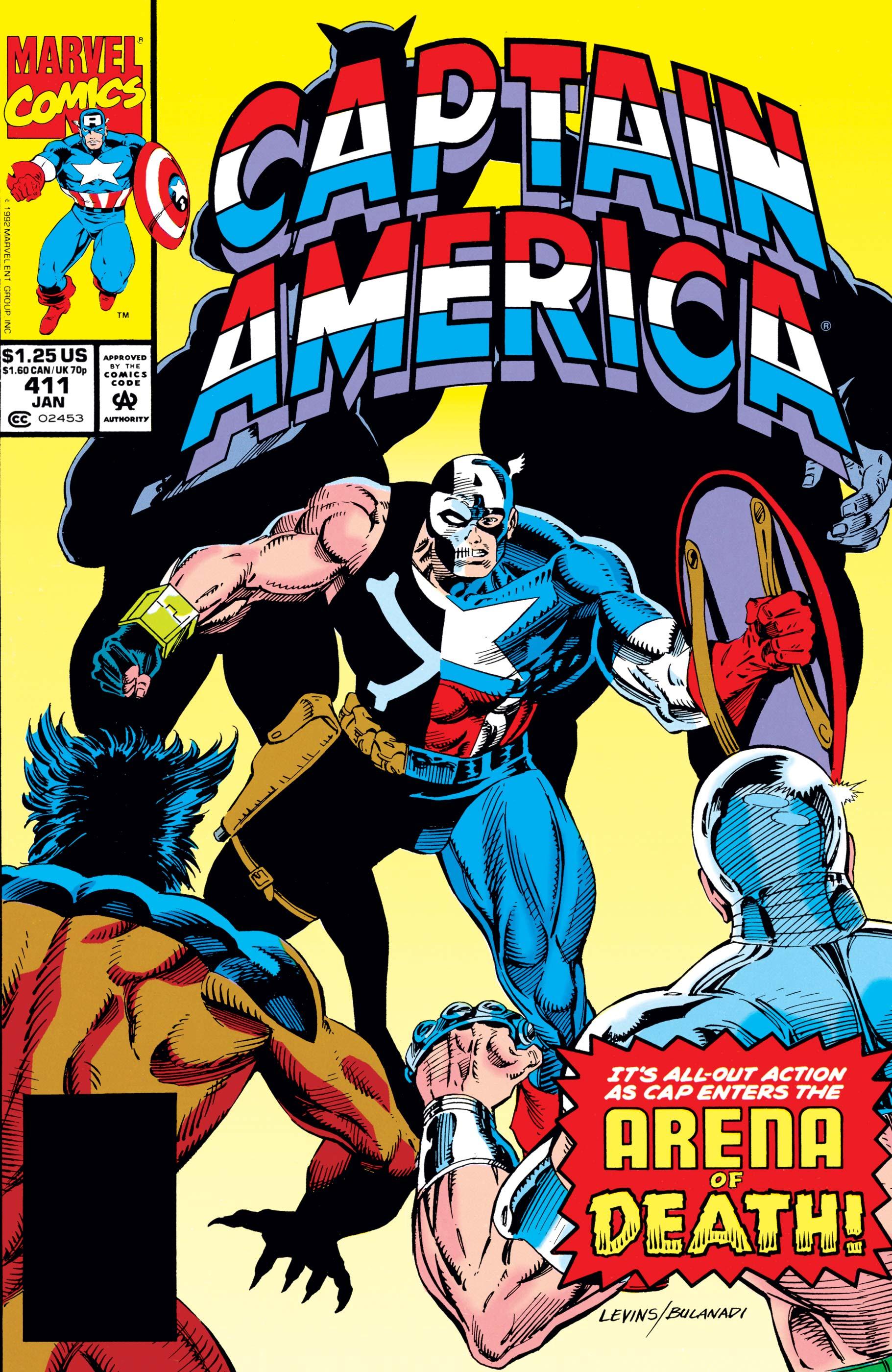 Captain America (1968) #411
