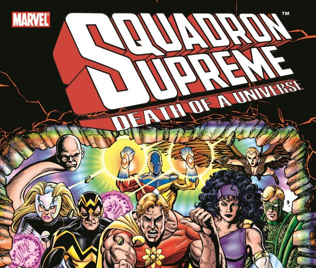SQUADRON SUPREME: DEATH OF A UNIVERSE 0 cover