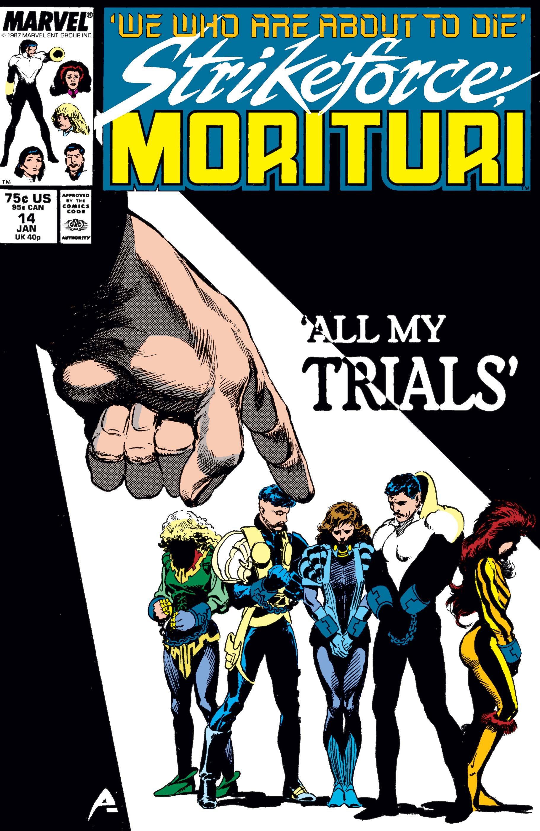 Strikeforce: Morituri (1986) #14