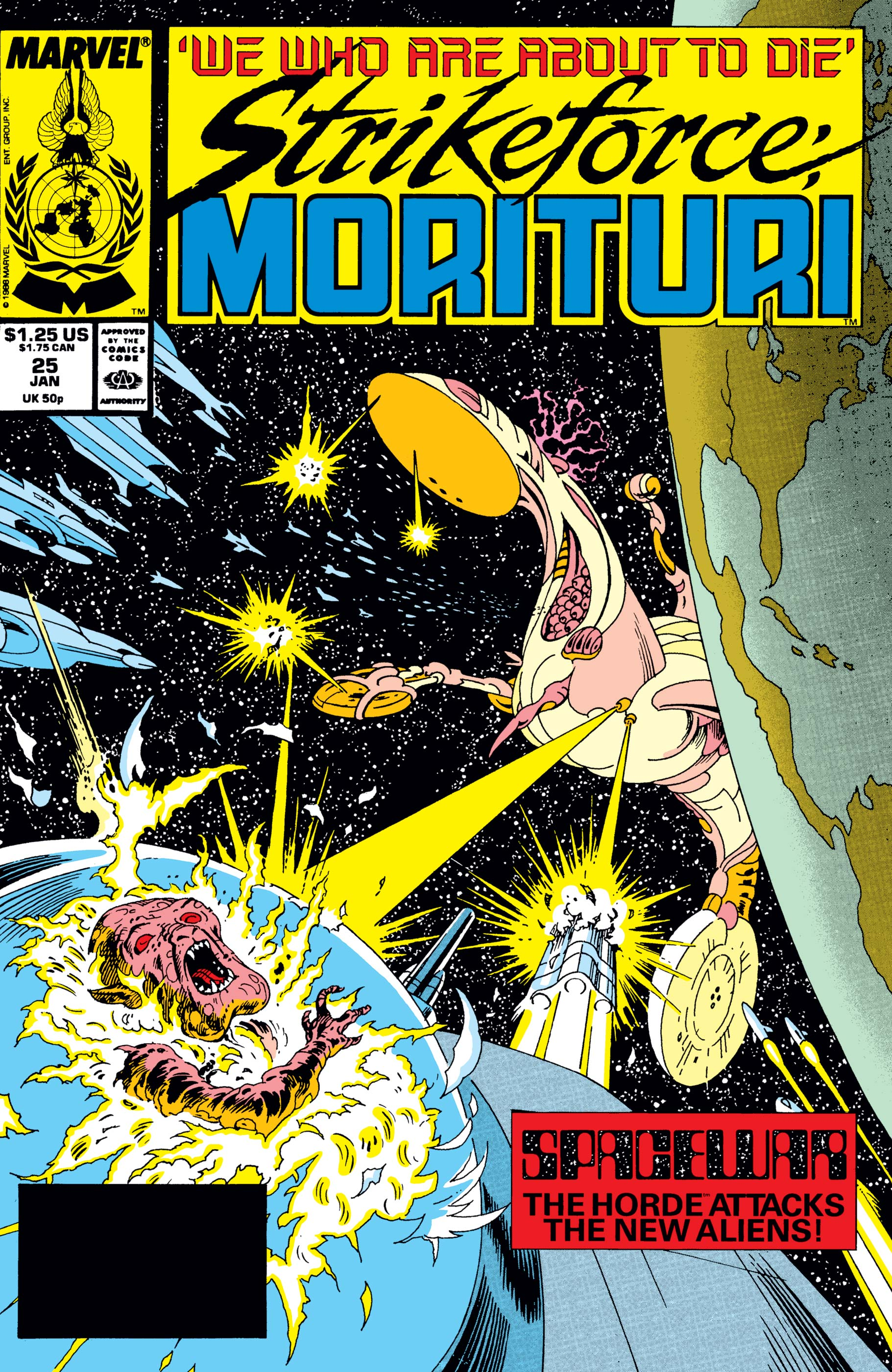 Strikeforce: Morituri (1986) #25