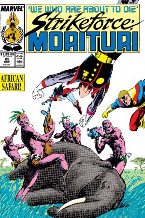 Strikeforce: Morituri (1986) #23