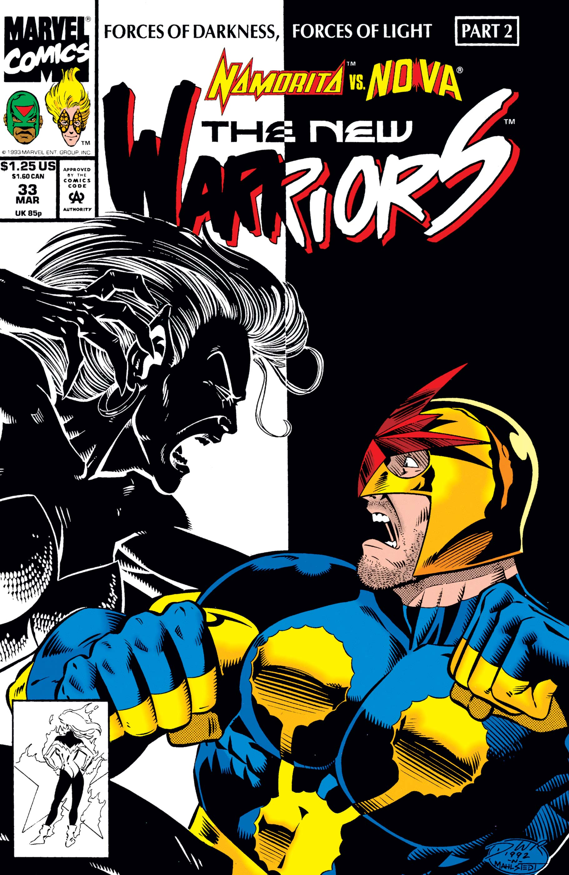 New Warriors (1990) #33