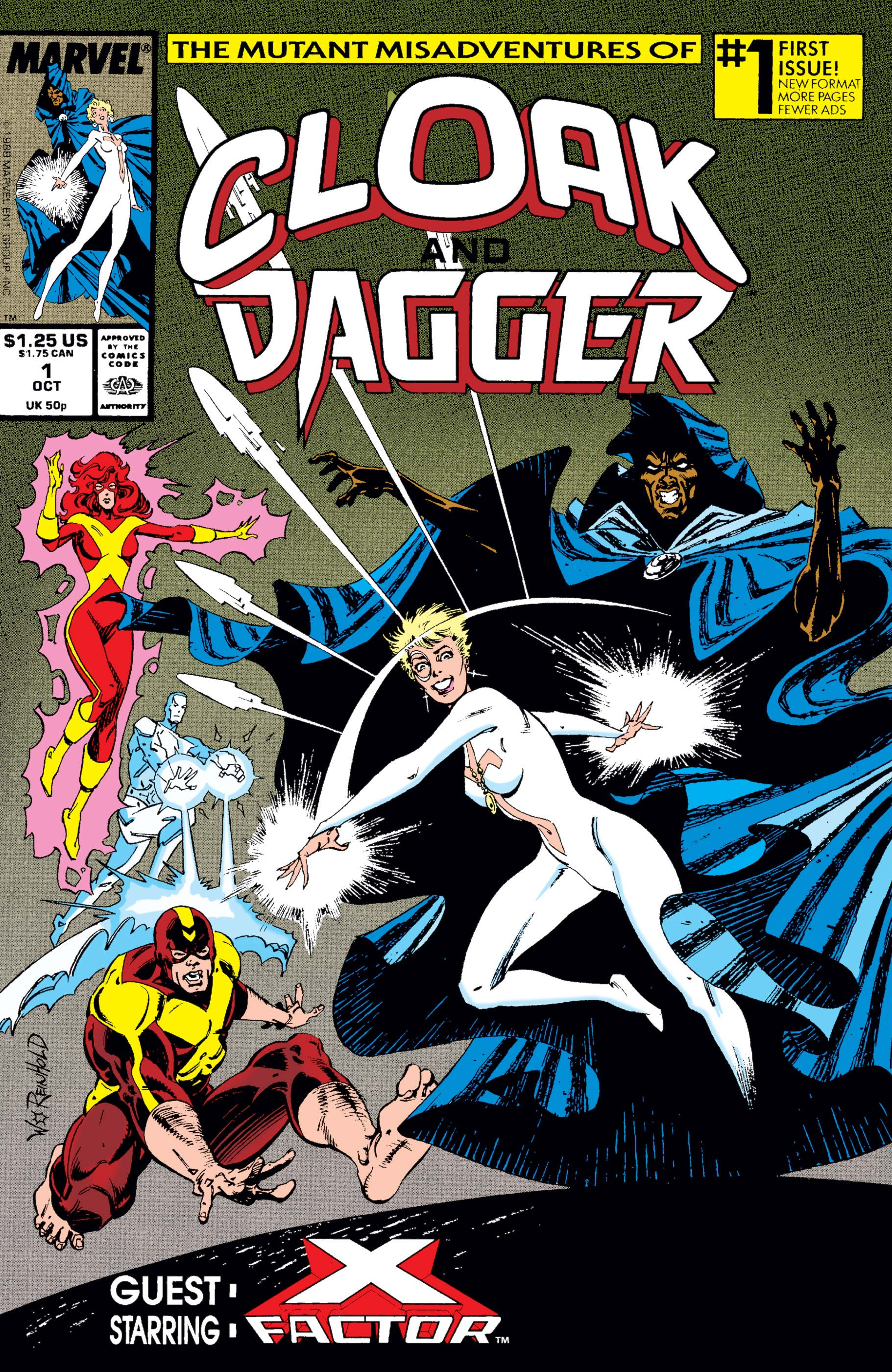 The Mutant Misadventures of Cloak and Dagger (1988) #1