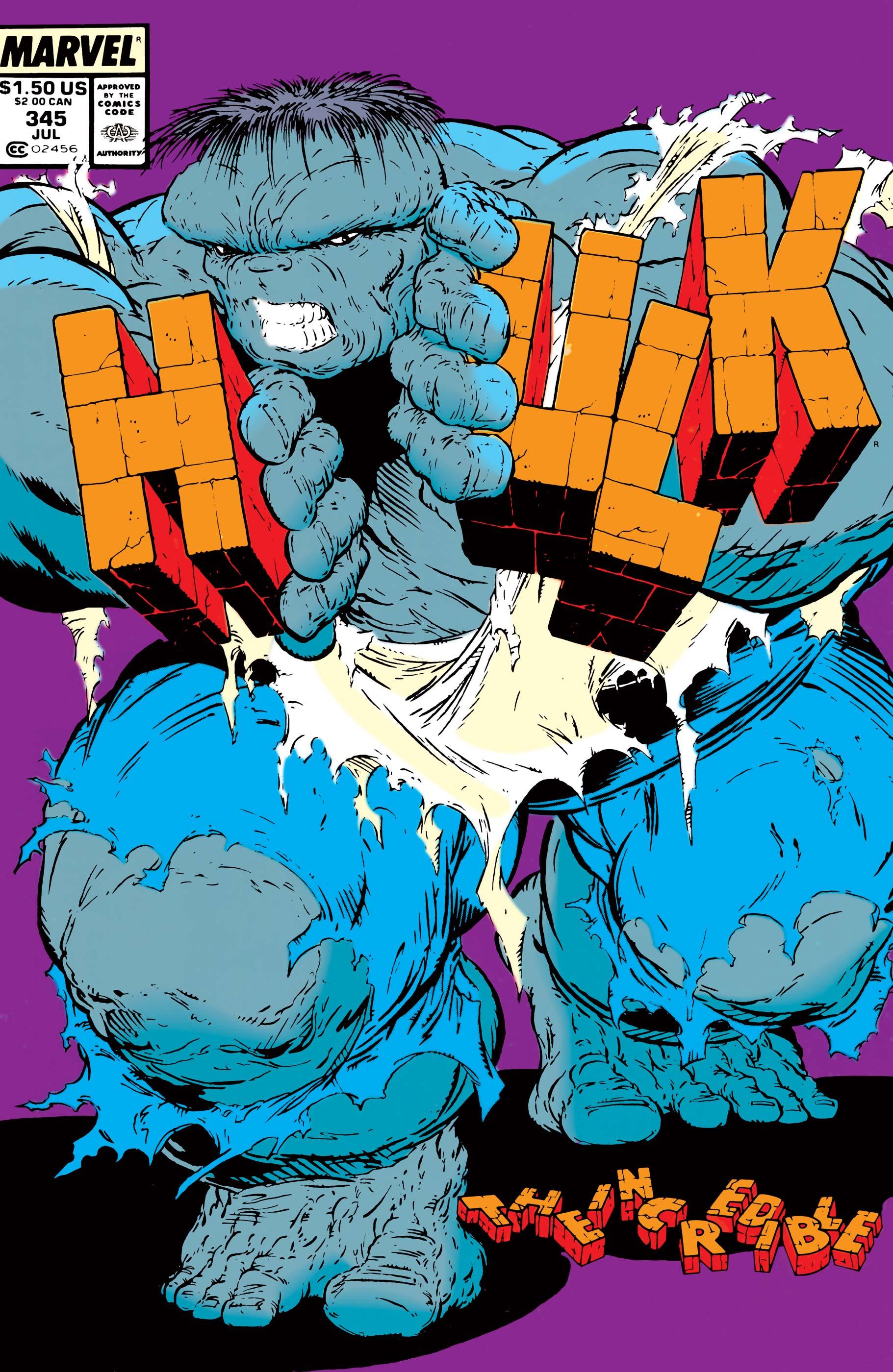 Incredible Hulk (1962) #345