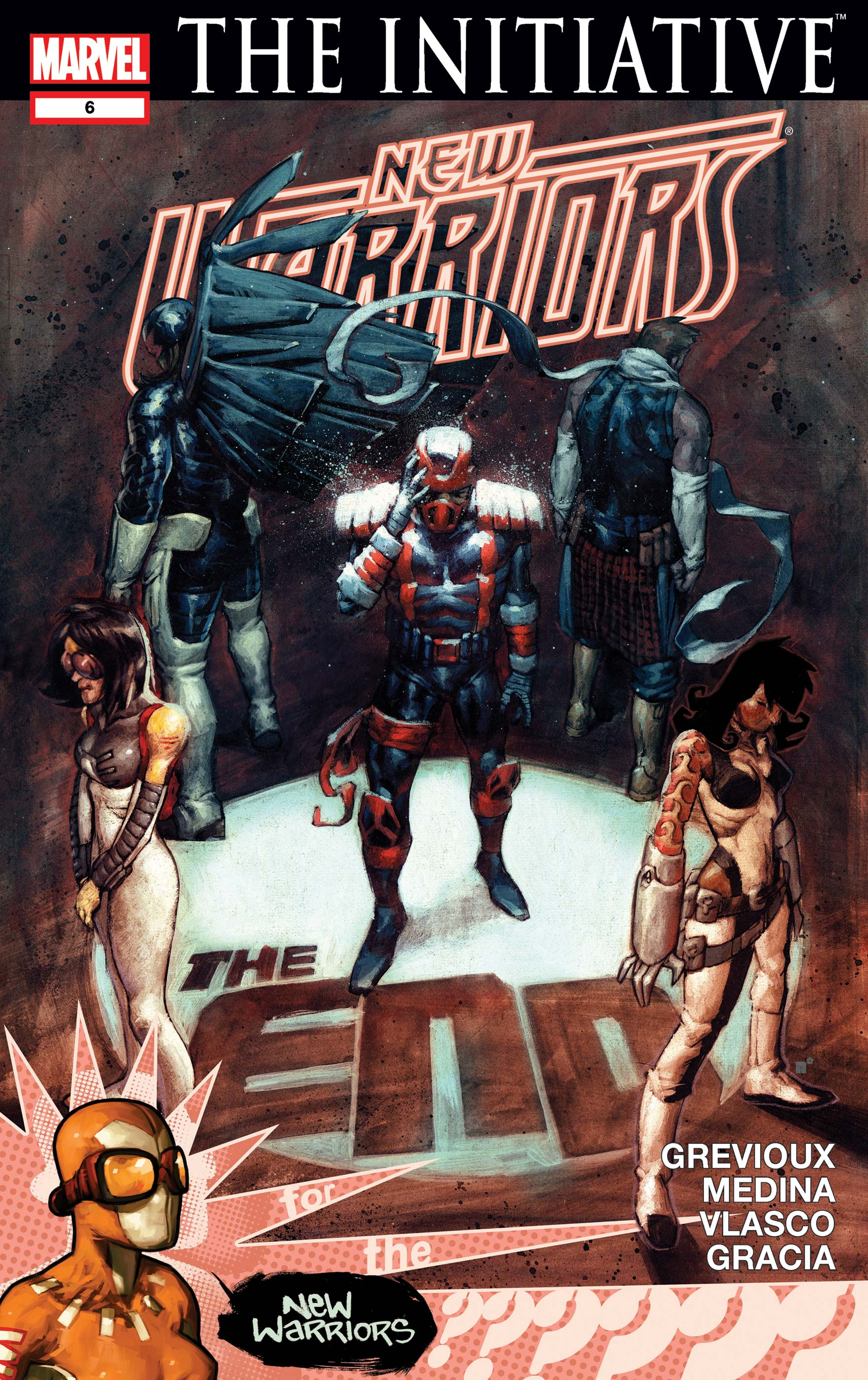New Warriors (2007) #6