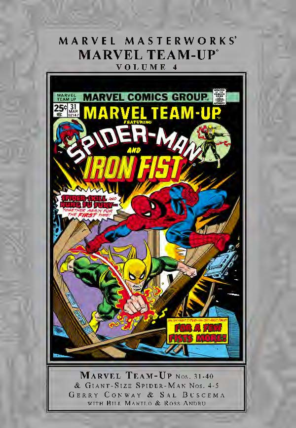 Marvel Masterworks: Marvel Team-Up Vol. 4 (Hardcover)