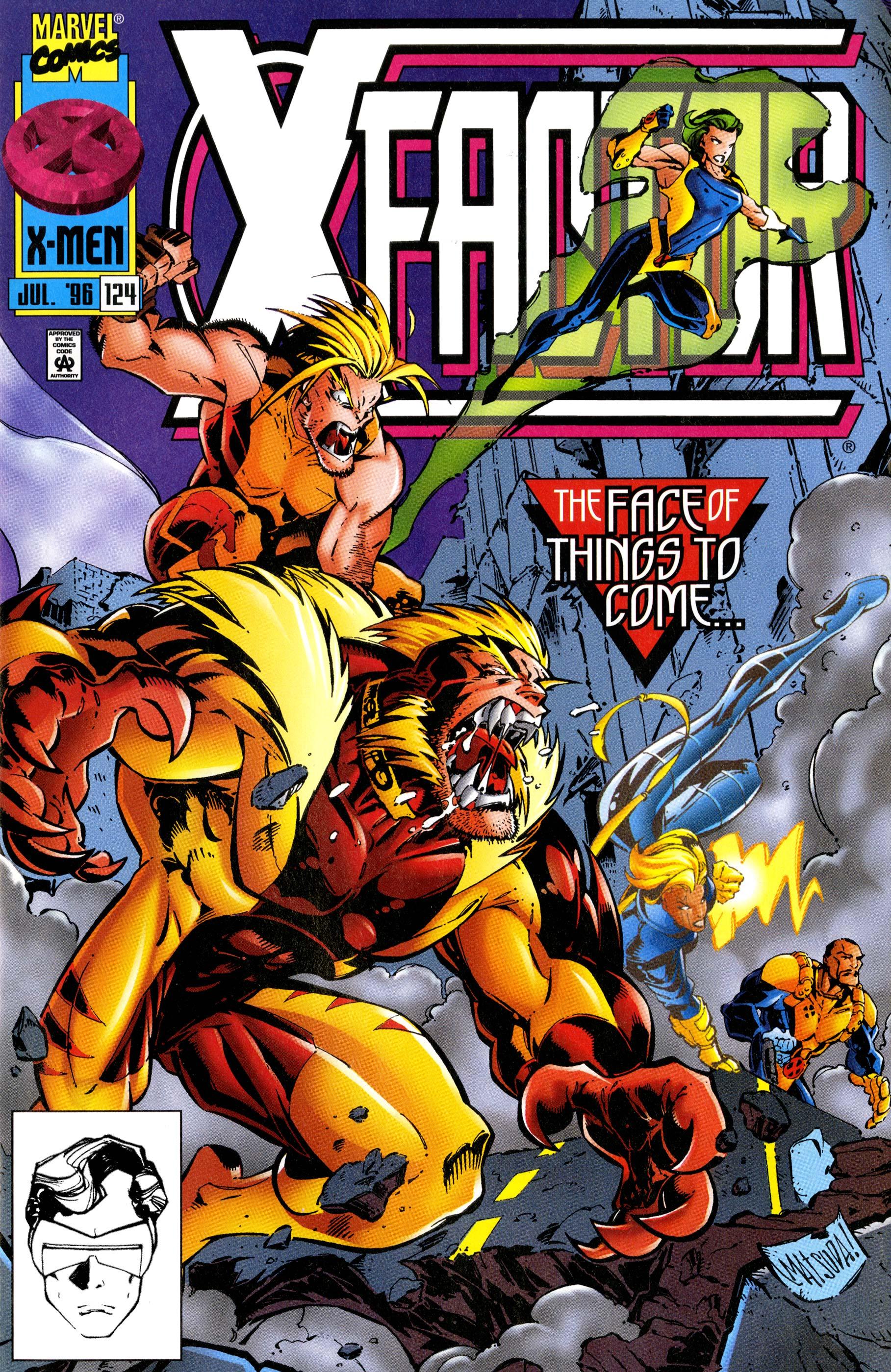 X-Factor (1986) #124
