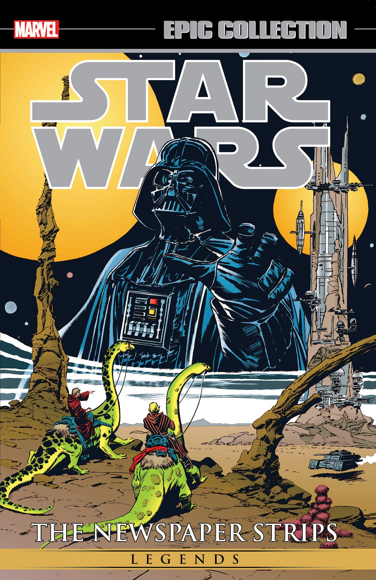Star Wars Legends Epic Collection: The Newspaper Strips Vol. 2 (Trade Paperback)