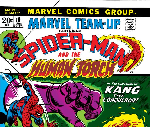 MARVEL TEAM-UP (1972) #10