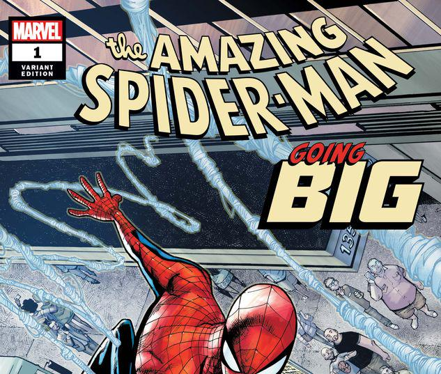 AMAZING SPIDER-MAN: GOING BIG 1 RAMOS VARIANT #1