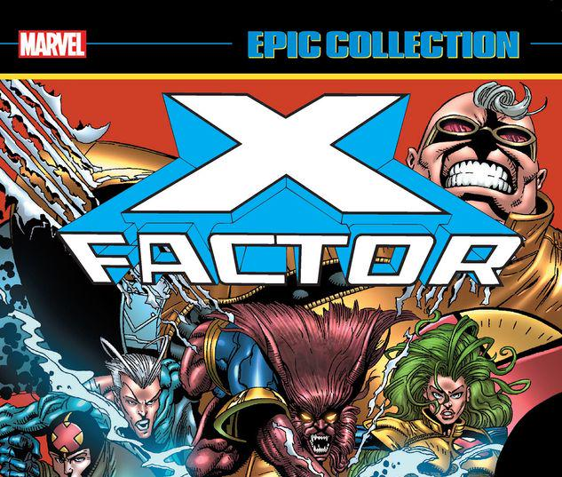 X-FACTOR EPIC COLLECTION: X-AMINATIONS TPB #1