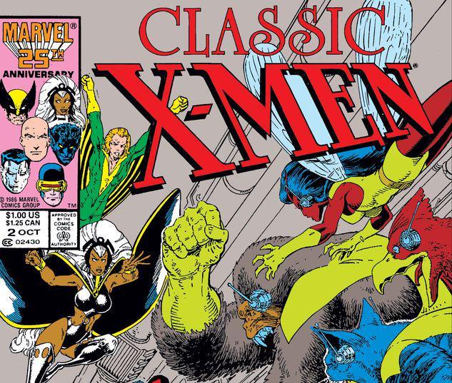 Classic X-Men #2