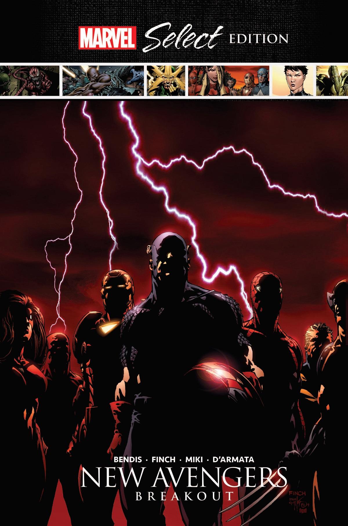 New Avengers: Breakout Marvel Select (Hardcover)