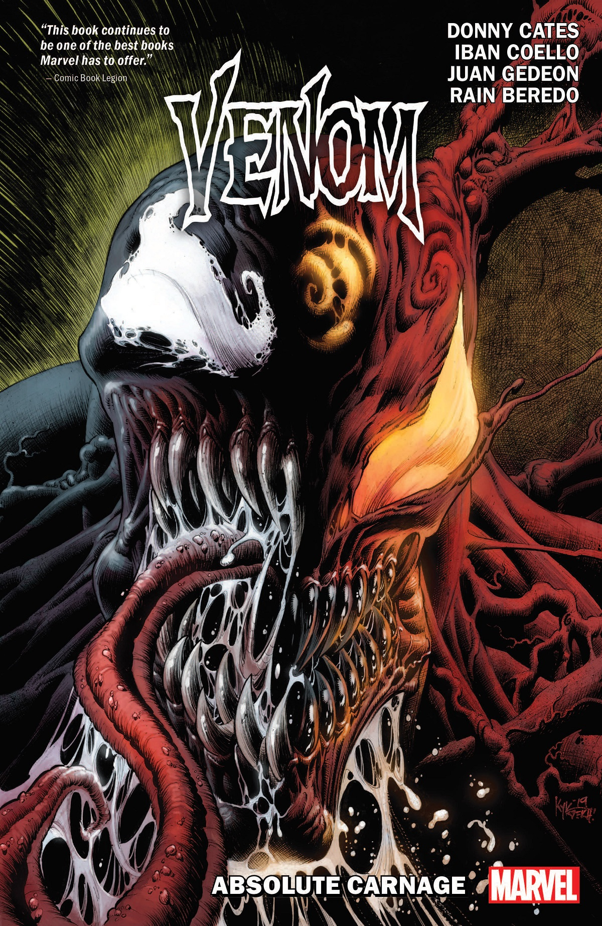 Venom By Donny Cates Vol. 3: Absolute Carnage (Trade Paperback)