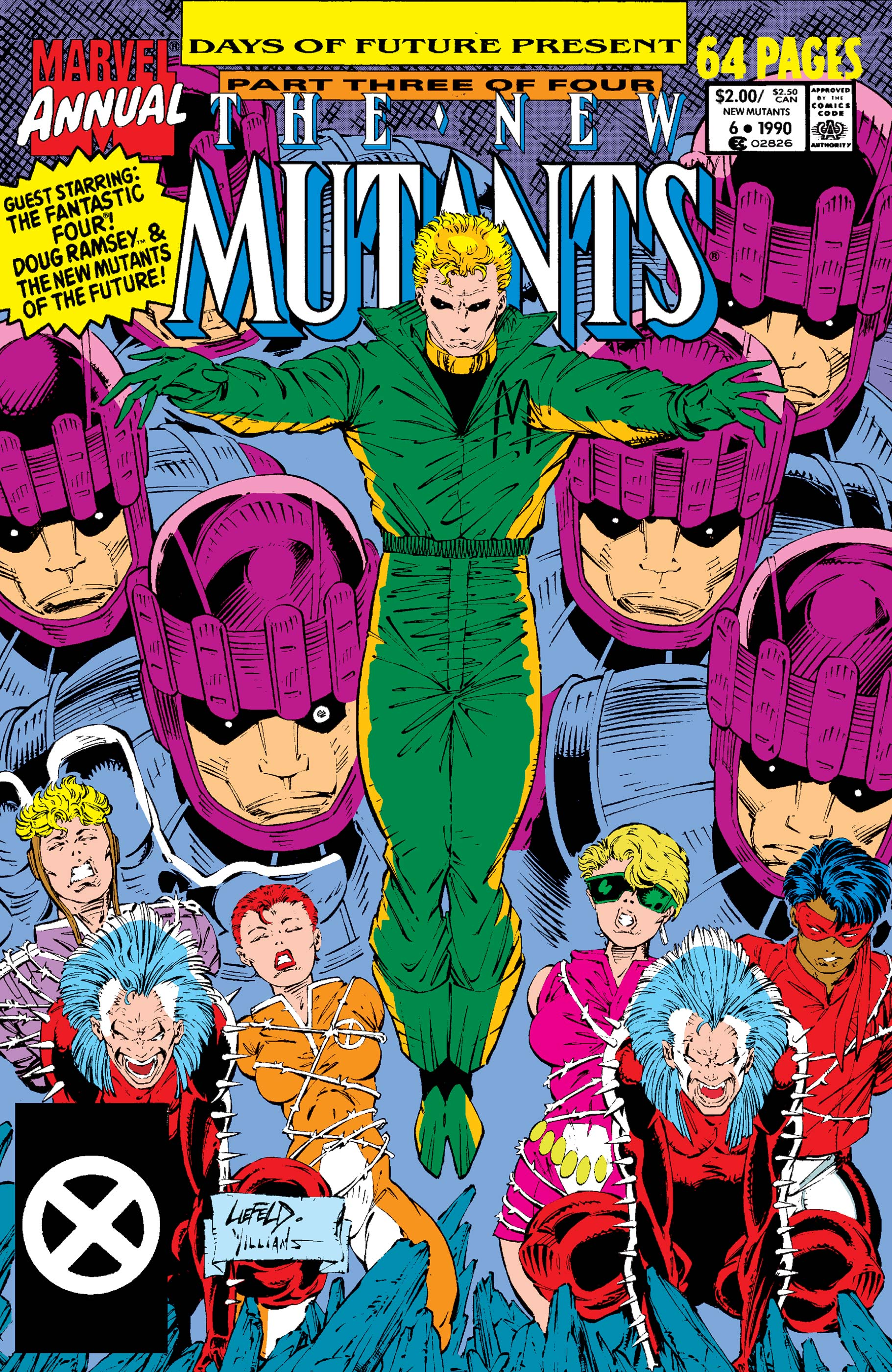 New Mutants Annual (1984) #6
