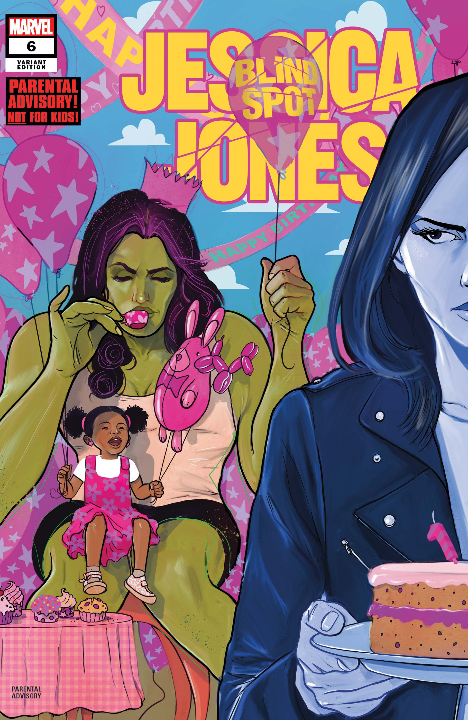 Jessica Jones: Blind Spot (2020) #6 (Variant)