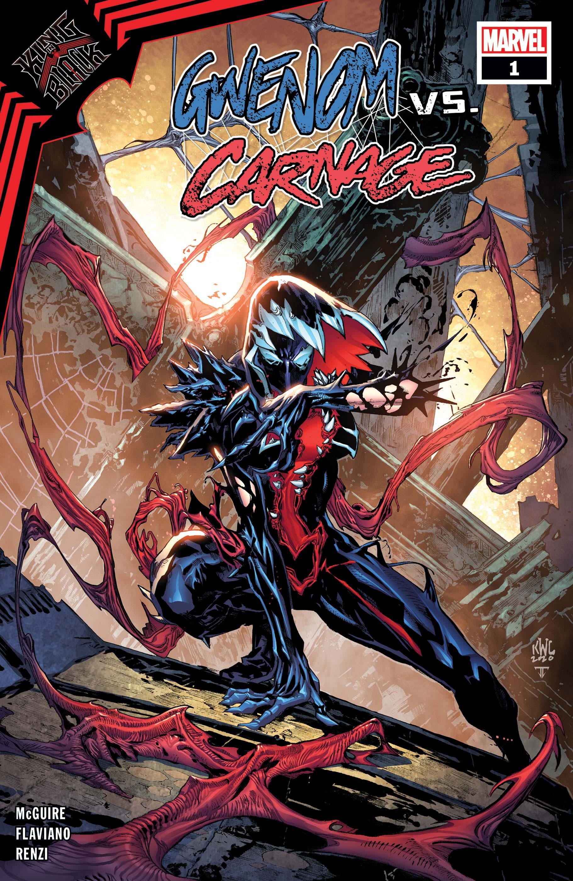 King in Black: Gwenom Vs. Carnage (2021) #1