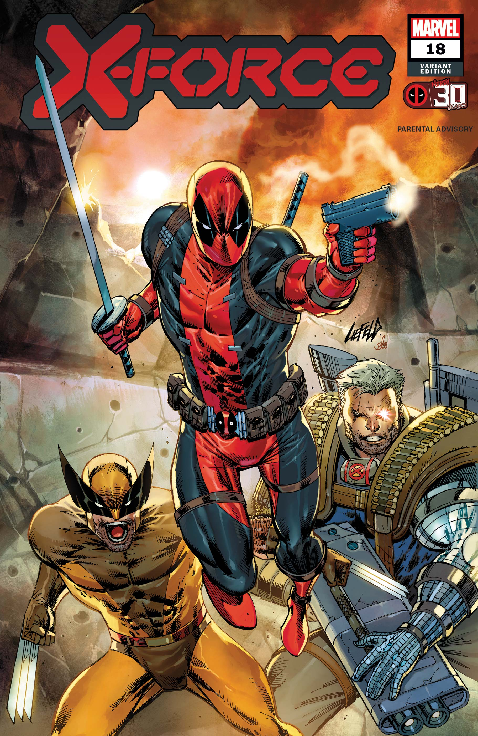 X-Force (2019) #18 (Variant)