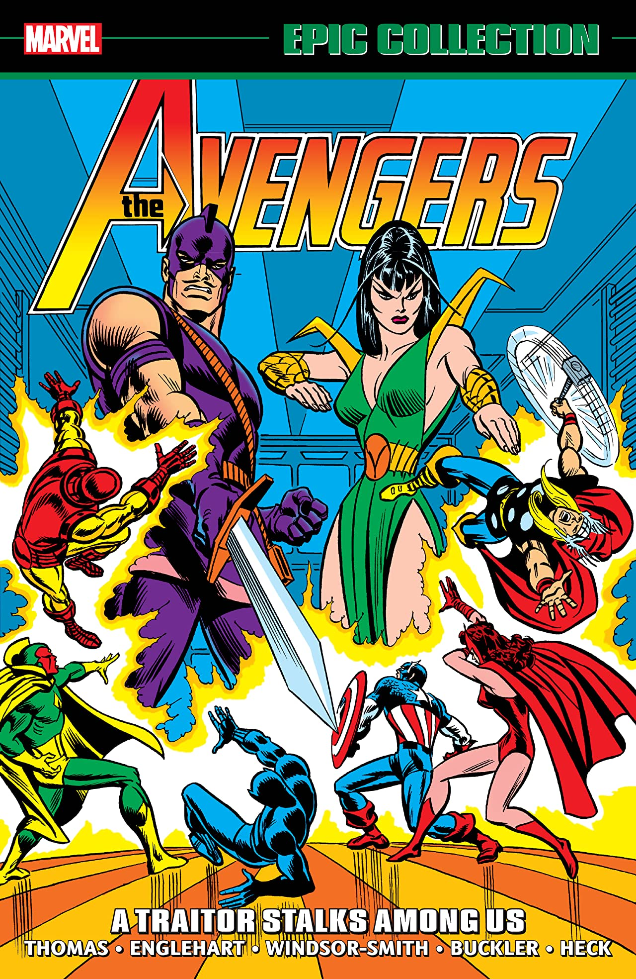 Avengers Epic Collection: A Traitor Stalks Among Us (Trade Paperback)