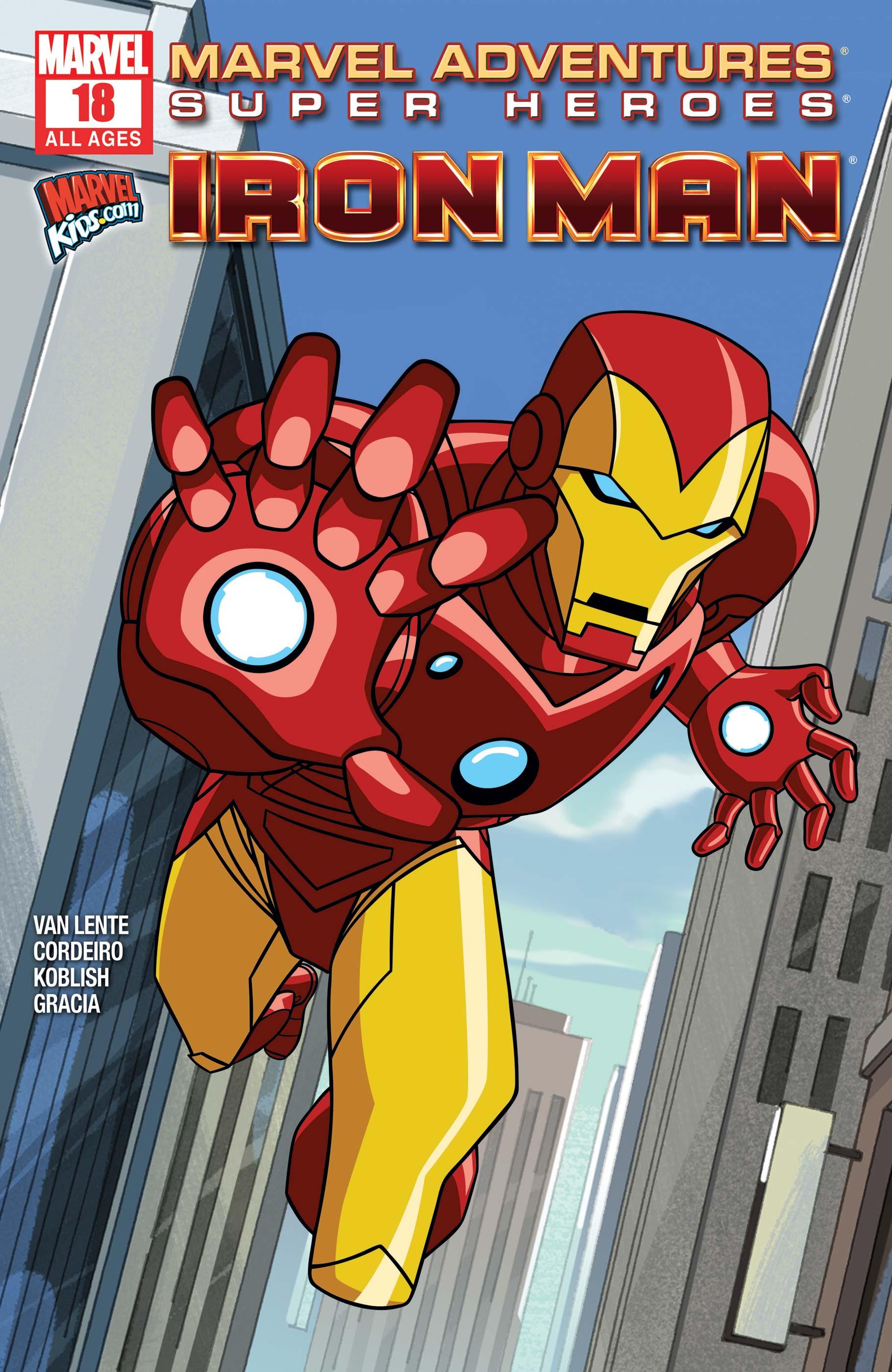 Marvel Adventures Super Heroes (2010) #18