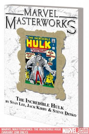 Marvel Masterworks: The Incredible Hulk Vol. 1 Variant (DM Only) (Trade Paperback)