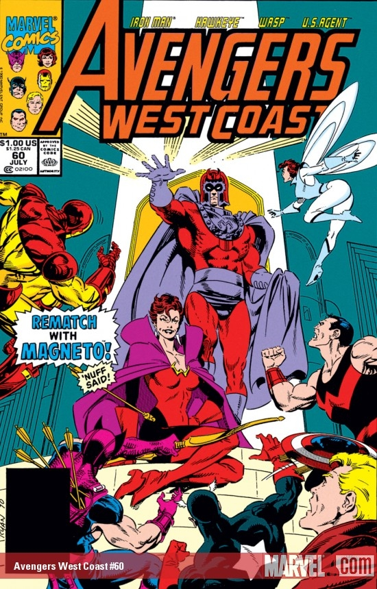 Avengers West Coast (1985) #60