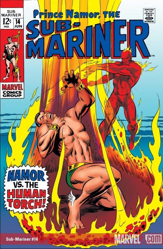 Sub-Mariner (1968) #14