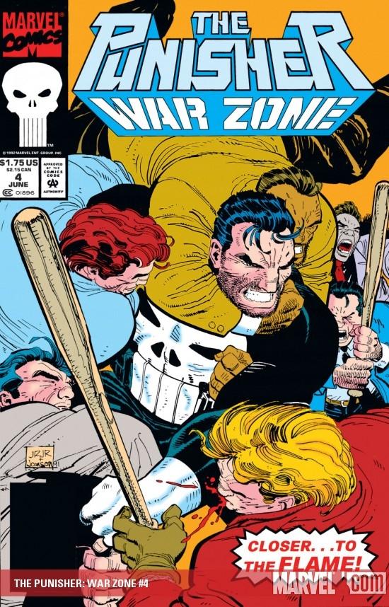 The Punisher War Zone (1992) #4