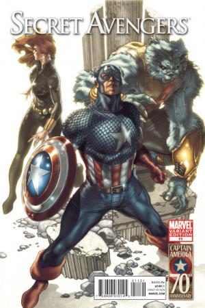 Secret Avengers #11  (CAPTAIN AMERICA 70TH ANNIVERSARY VARIANT)