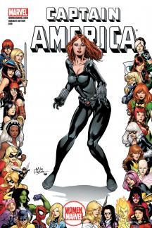 Captain America (2004) #609 (WOMEN OF MARVEL VARIANT)
