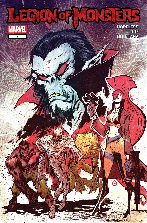 Legion of Monsters (2011) #1