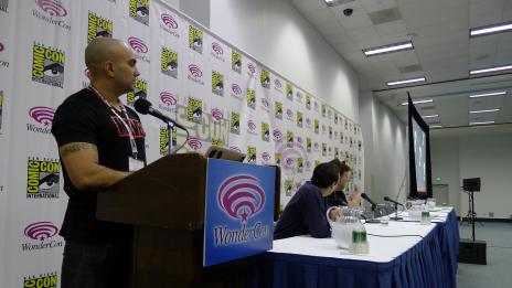 Arune Singh, Humberto Ramos & Tom Brevoort at the Amazing Spider-Man Panel, WonderCon 2012