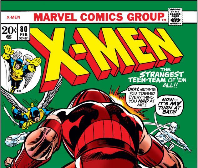 Uncanny X-Men #80 Cover