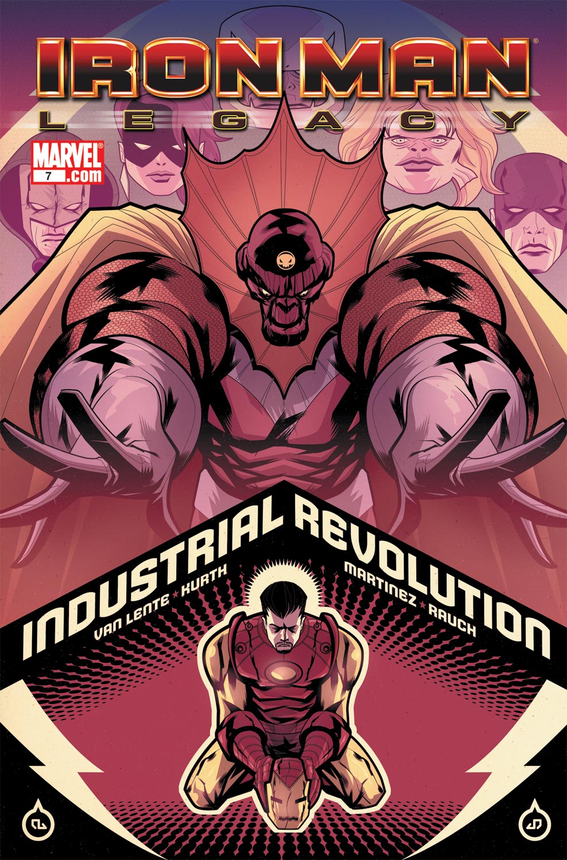 Iron Man Legacy (2010) #7