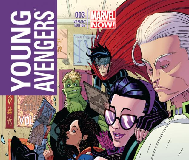 YOUNG AVENGERS 3 MOORE VARIANT (NOW, 1 FOR 50)