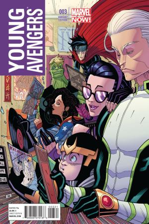 Young Avengers (2013) #3 (Moore Variant)