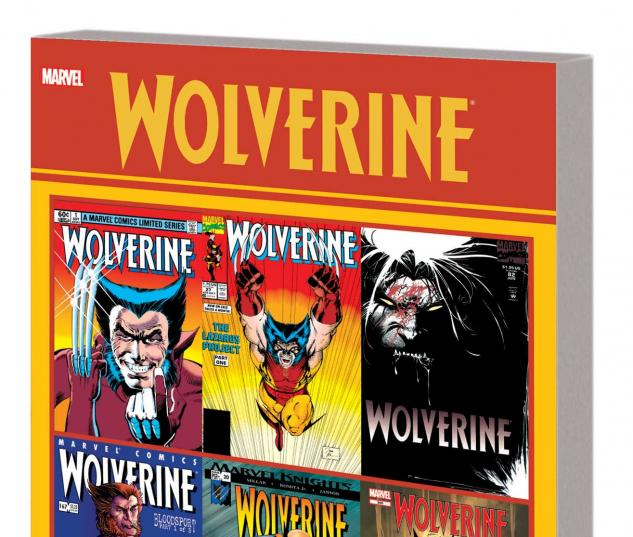 WOLVERINE: OFFICIAL INDEX TO THE MARVEL UNIVERSE GN-TPB