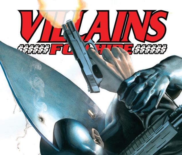 Villains For Hire (2011) #2