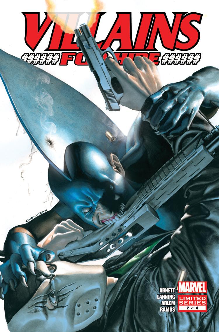 Villains for Hire (2011) #2