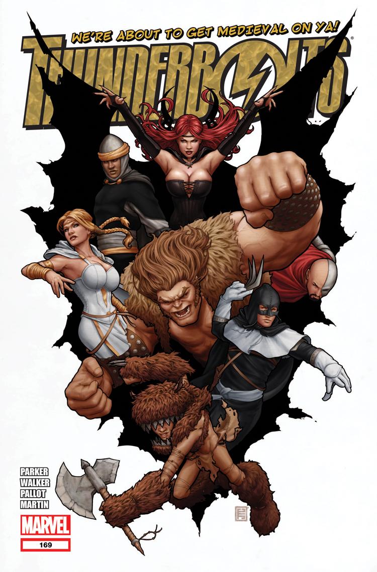 Thunderbolts (2006) #169