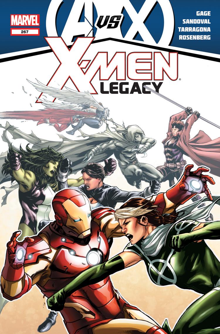X-Men Legacy (2008) #267