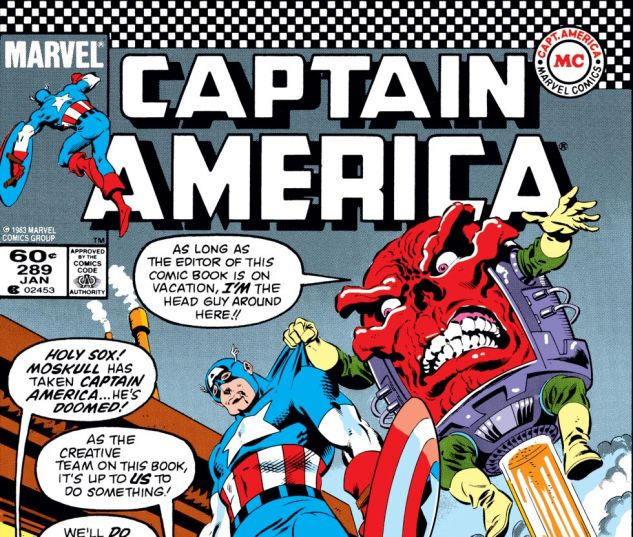 Captain America (1968) #289 Cover