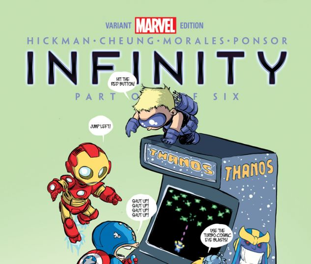 Infinity (2013) #1 (Young Variant)