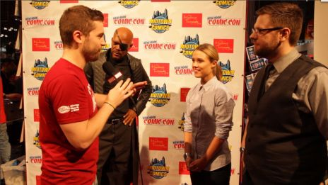 NYCC 2013: Nick Fury Madame Tussauds Wax Figure