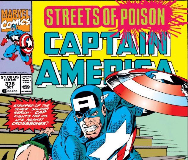 Captain America (1968) #378 Cover
