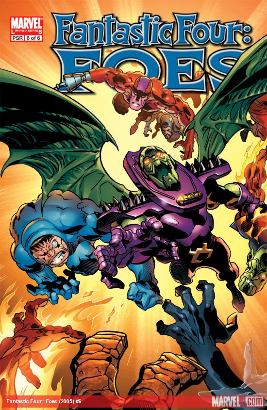Fantastic Four: Foes (2005) #6