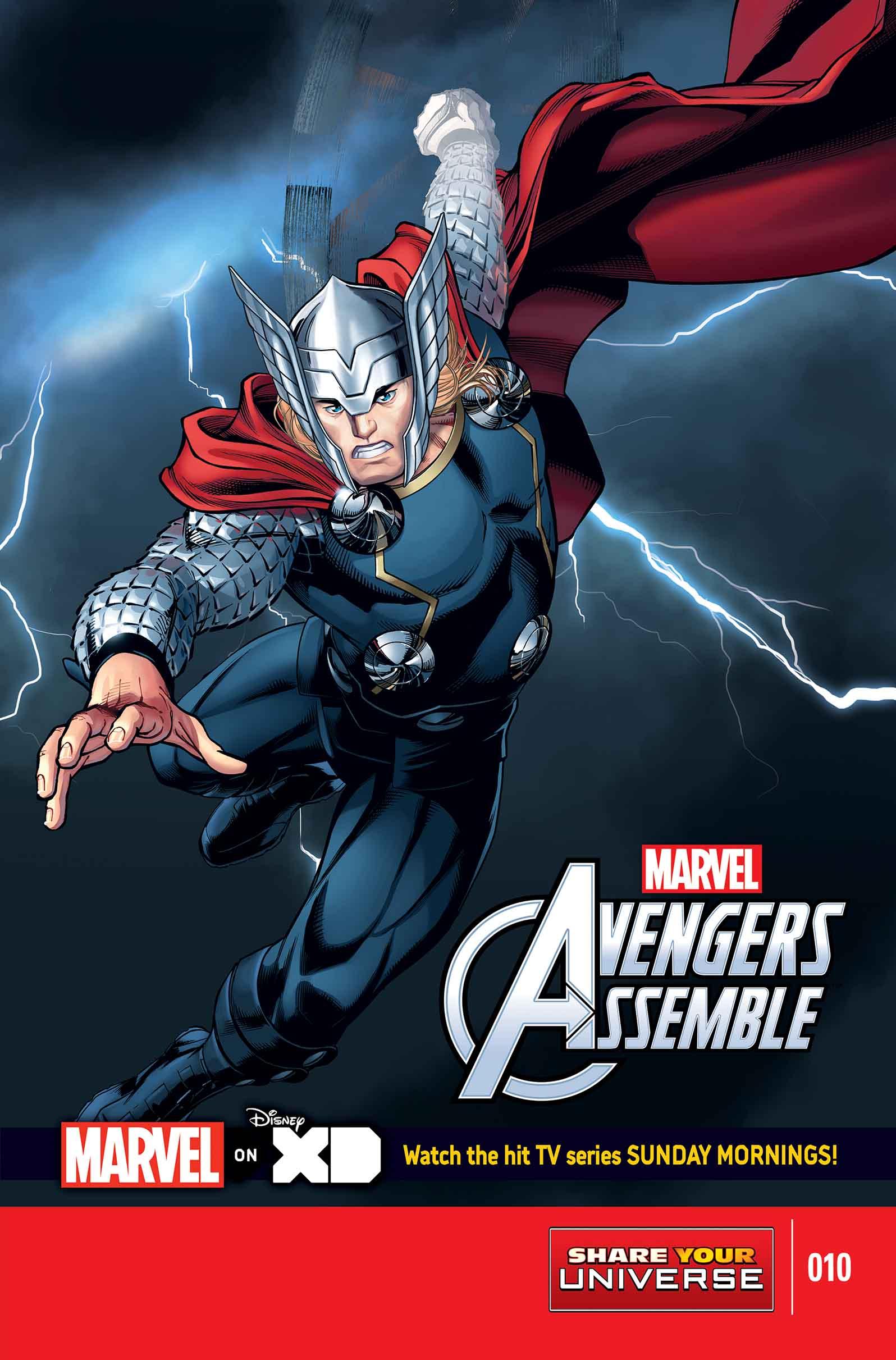 Marvel Universe Avengers Assemble (2013) #10